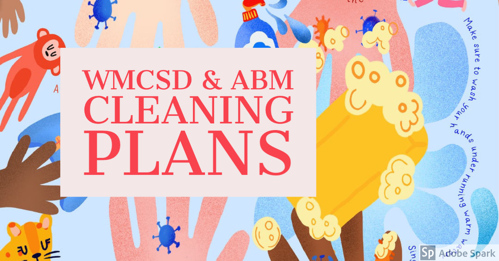 WMCSD Cleaning Plans for the New Year