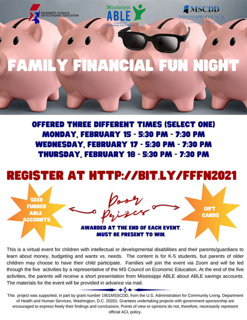 Family Financial Fun Night