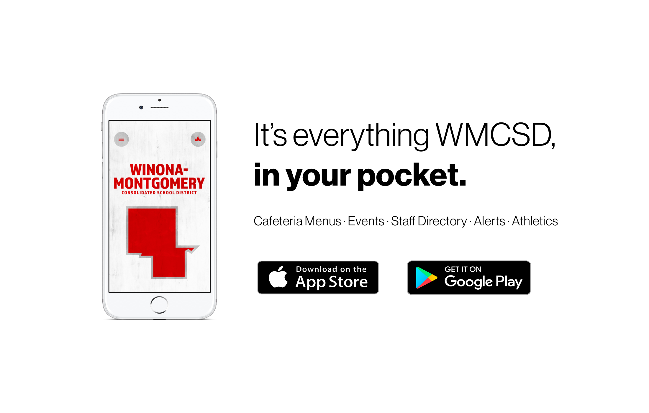 It's everything WMCS, in your pocket.